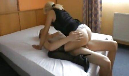 Flaco rubia anal español latino estiró sus piernas delante de bastardo de la herida