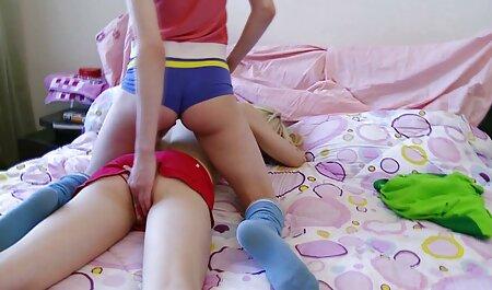 Mila abrió su españolas adictas al sexo anal coño y boquiabierto